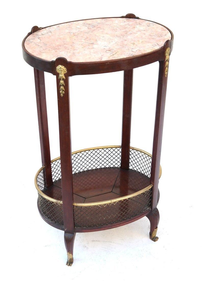 Edwardian Mahogany Oval Occasional Table