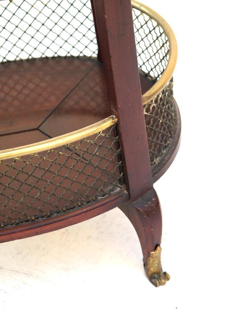 Edwardian Mahogany Oval Occasional Table - 3