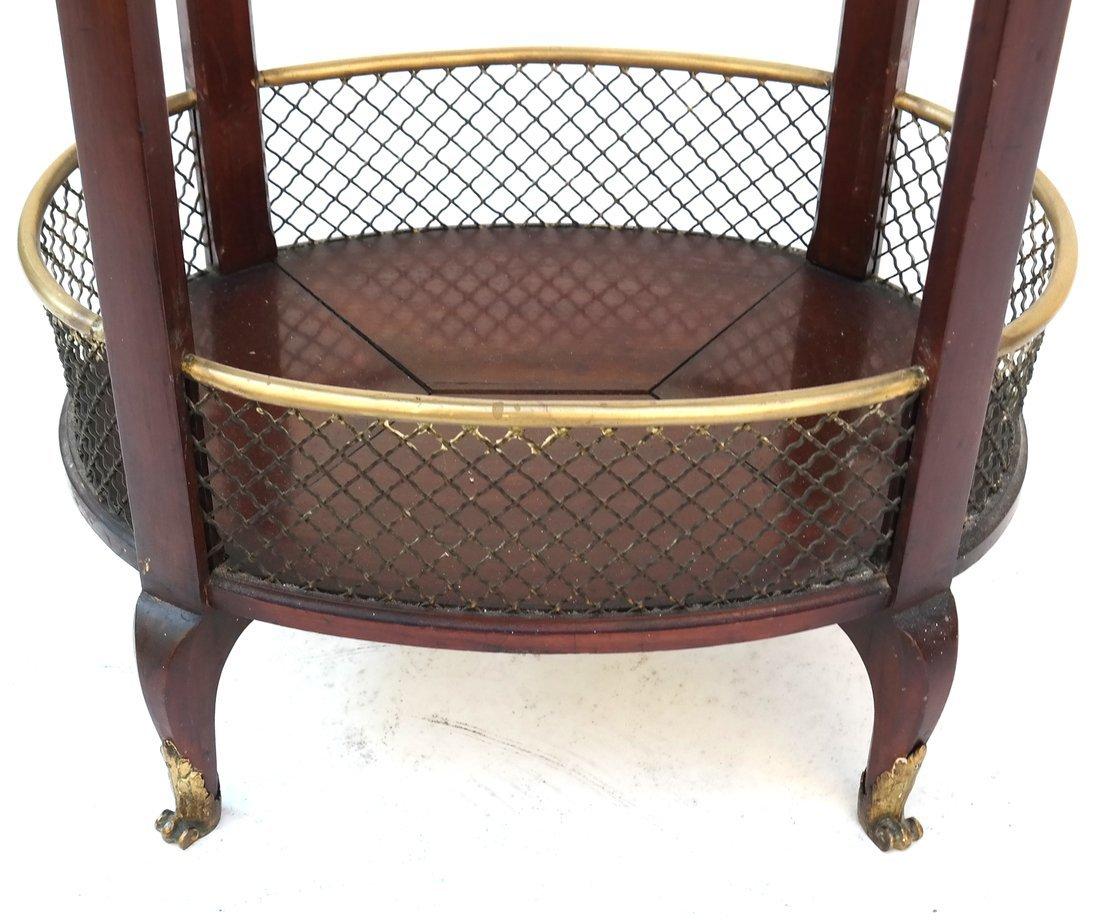 Edwardian Mahogany Oval Occasional Table - 5