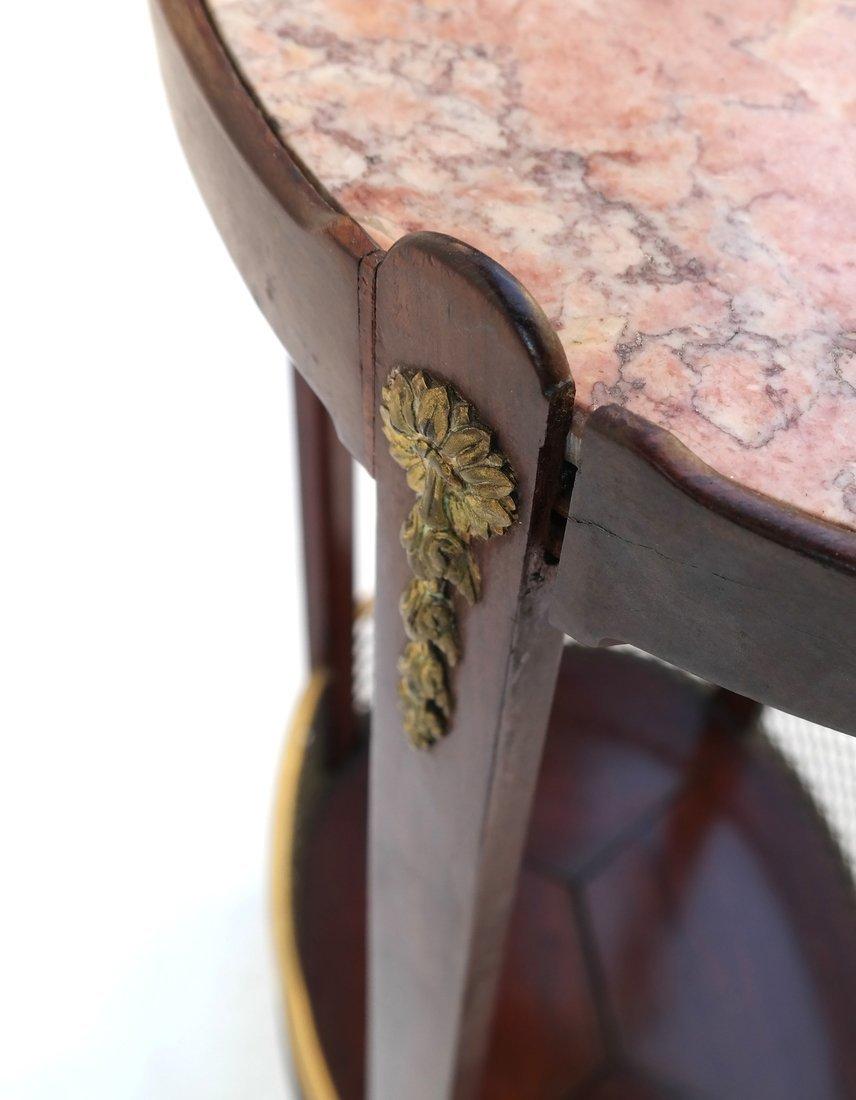 Edwardian Mahogany Oval Occasional Table - 6