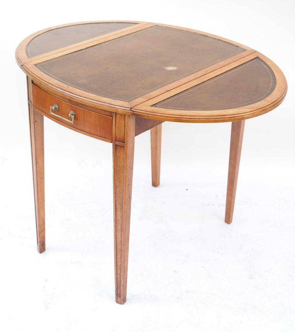 George III Style Mahogany Pembroke Table - 4