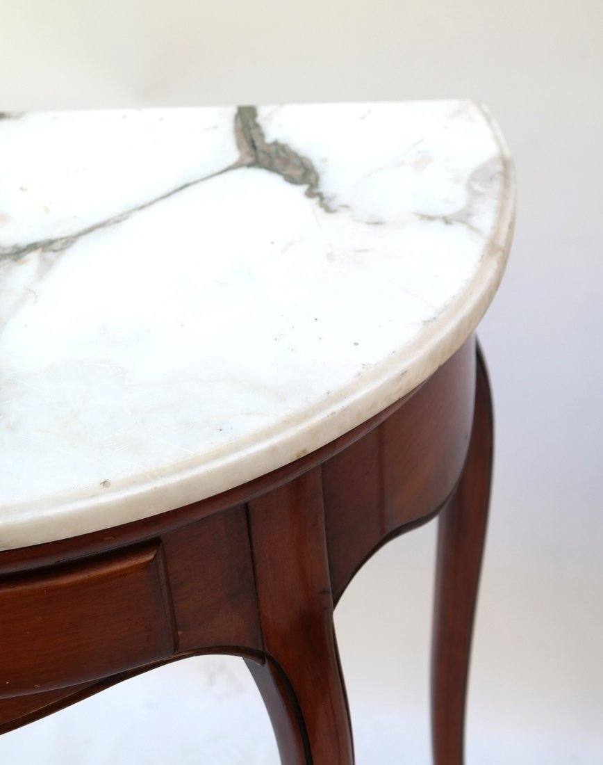 Pair Louis XV Provincial Style Tables - 3