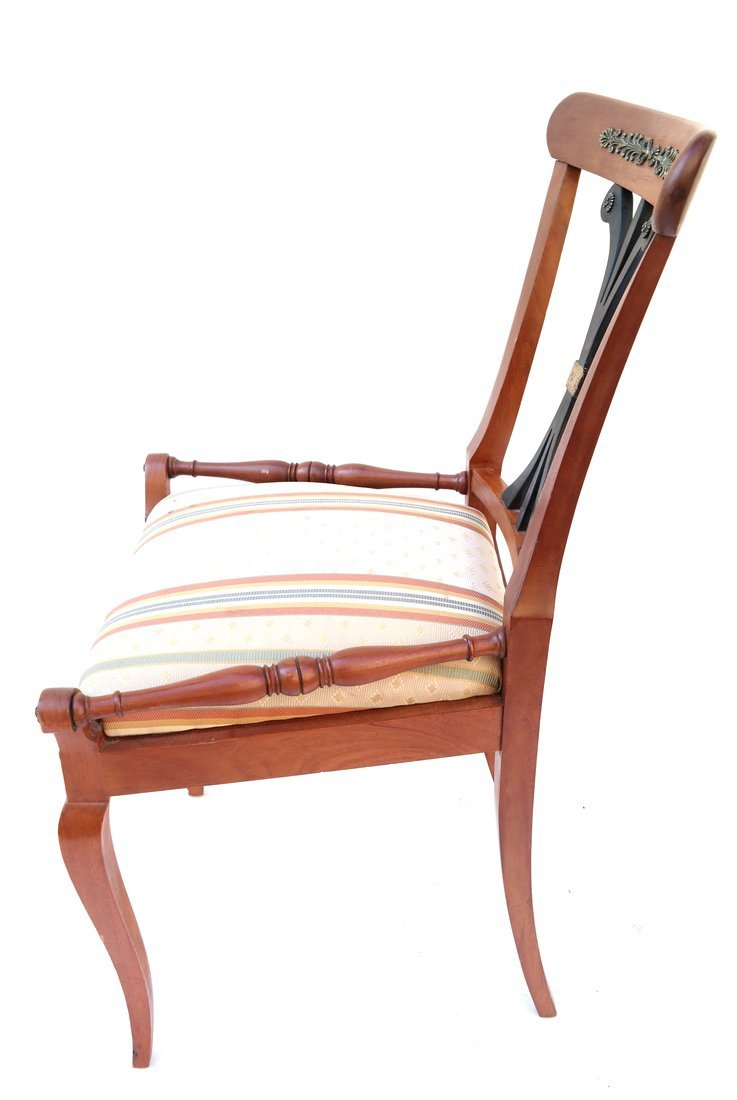 Pair Scandinavian Style Side Chairs - 5