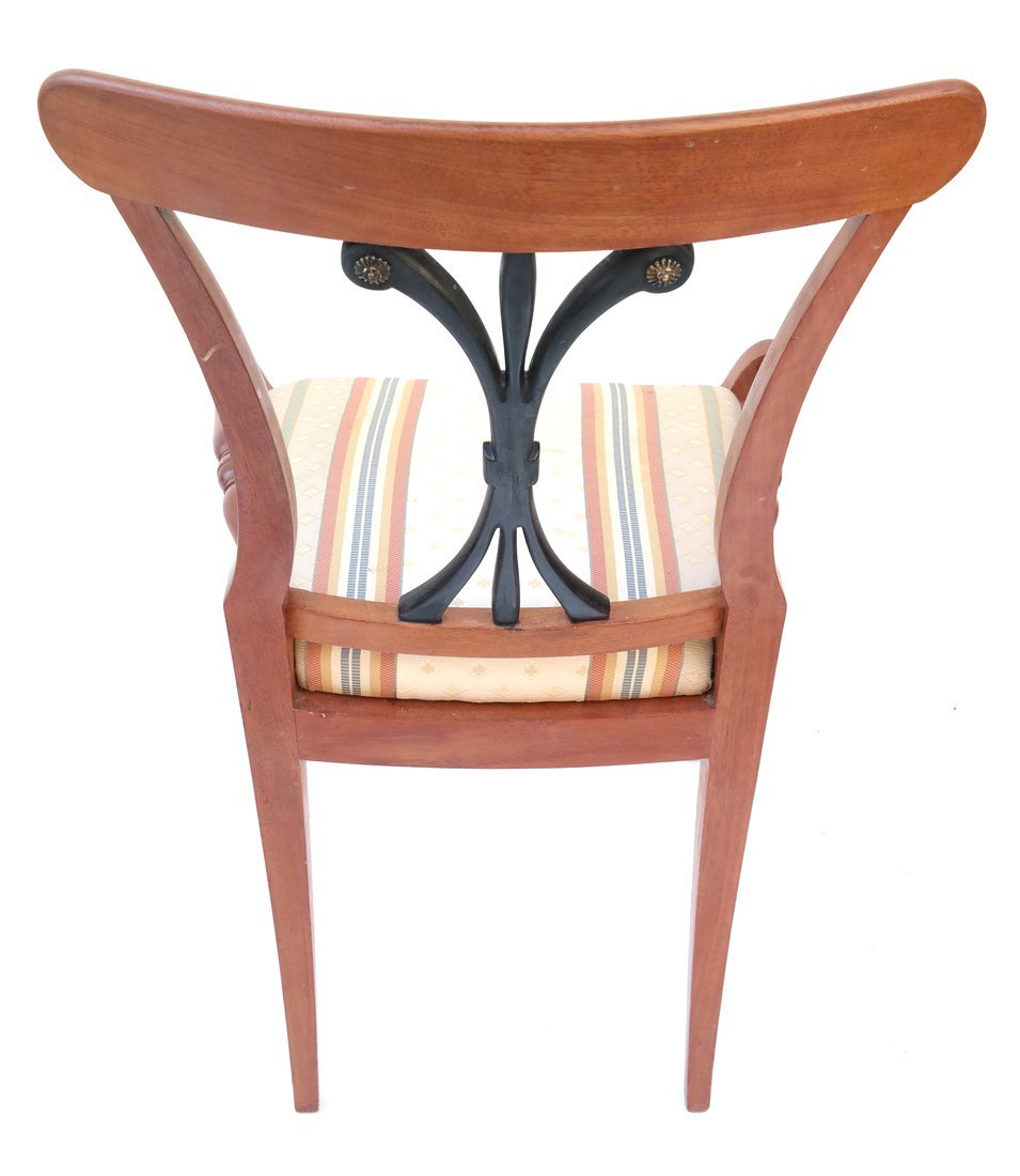 Pair Scandinavian Style Side Chairs - 6