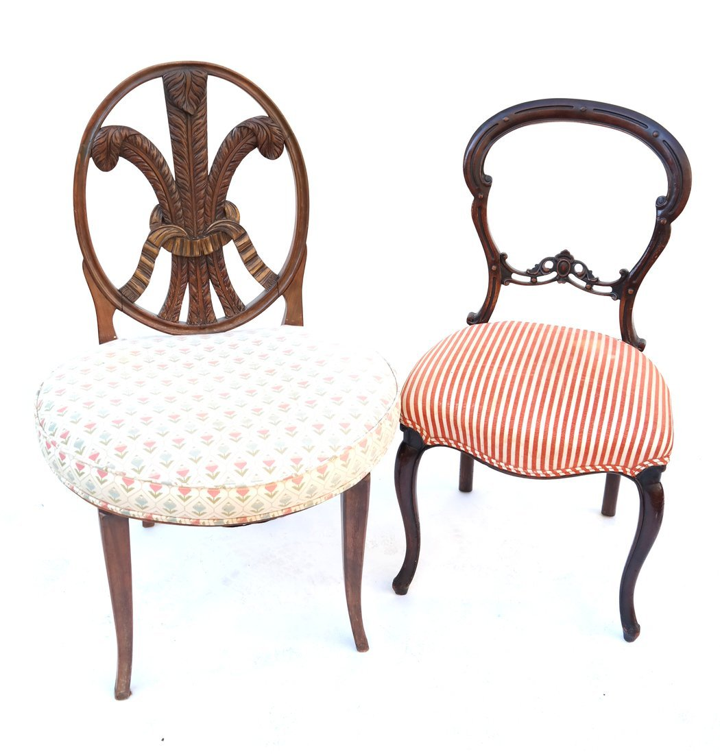 Two Various Side Chairs