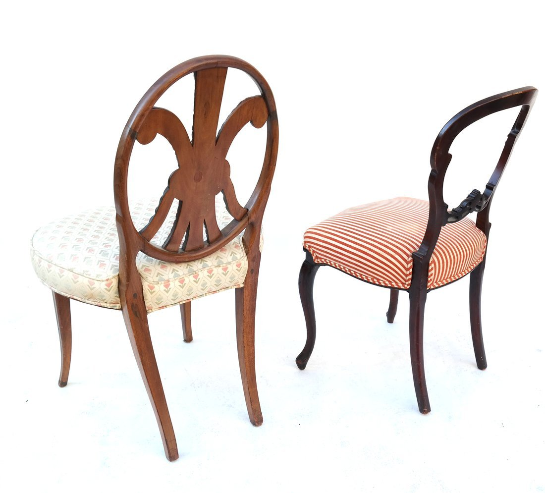 Two Various Side Chairs - 5
