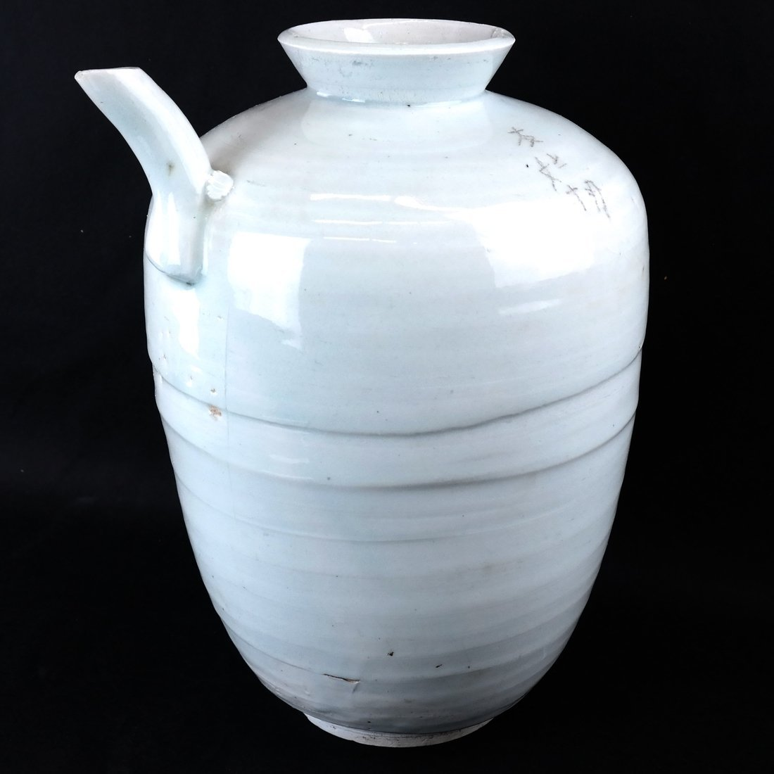 Asian Porcelain Wine Storage Vessel