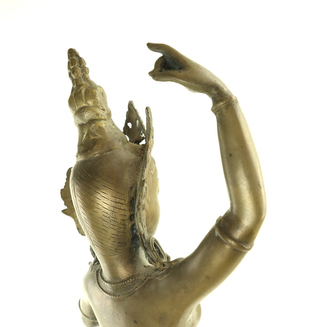 Asian Bronze Dancing Deity - 6