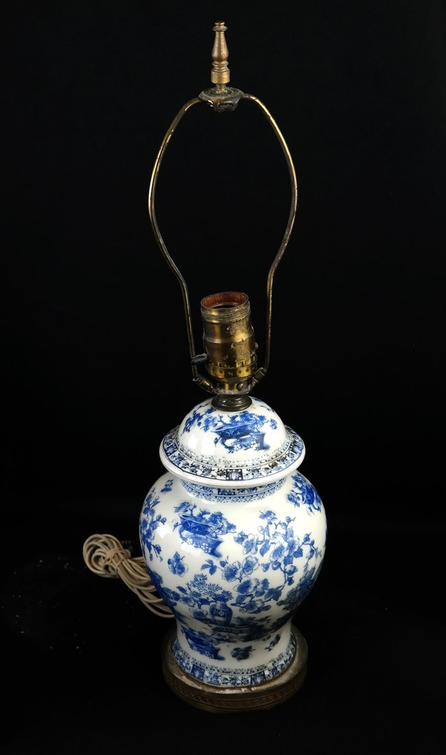 Two Chinese Porcelain Lamps and Another - 2