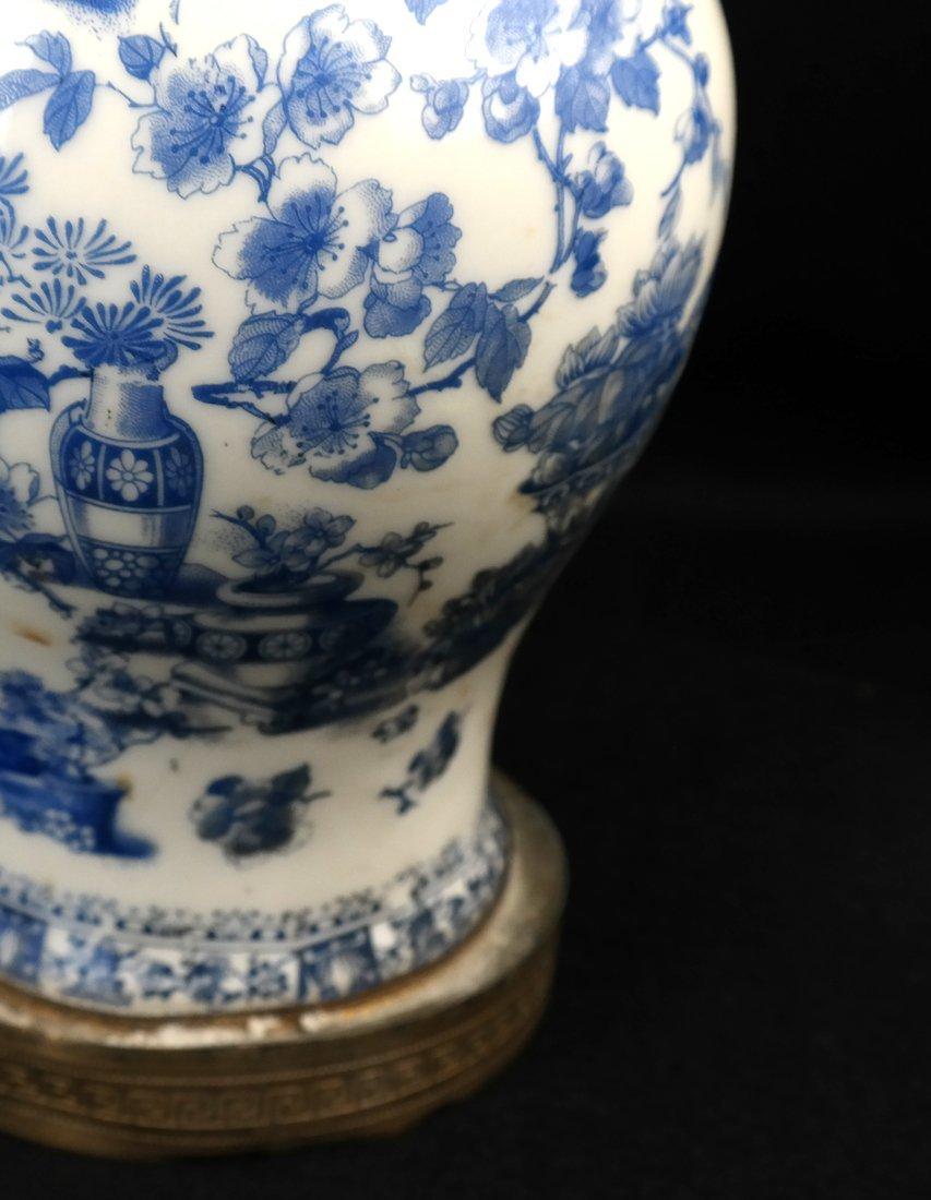 Two Chinese Porcelain Lamps and Another - 4