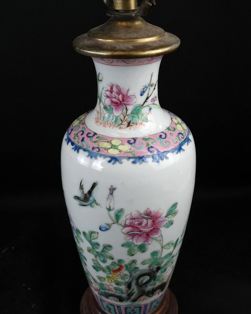 Two Chinese Porcelain Lamps and Another - 5