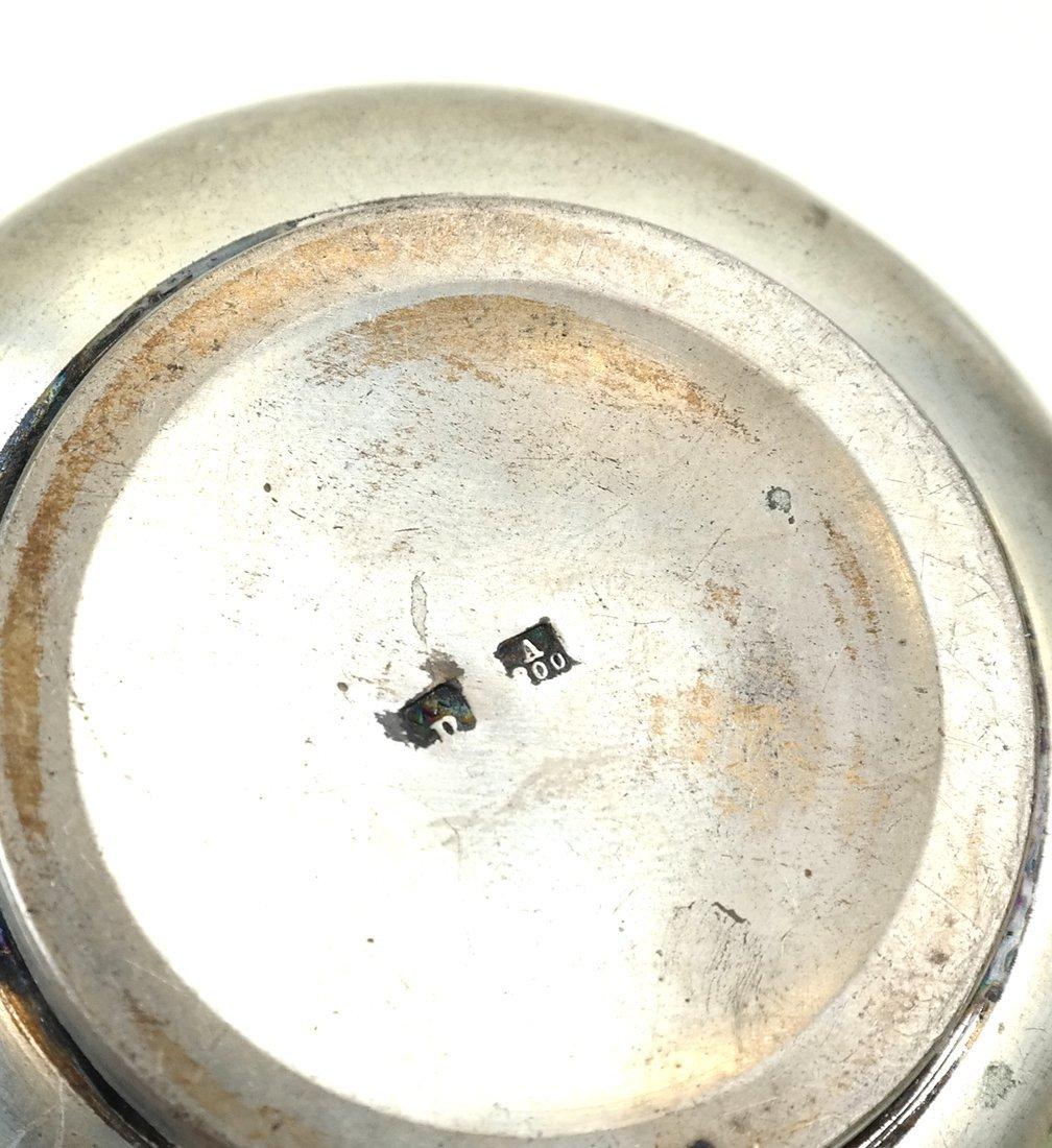 Three German .800 Silver Tea Articles - 10
