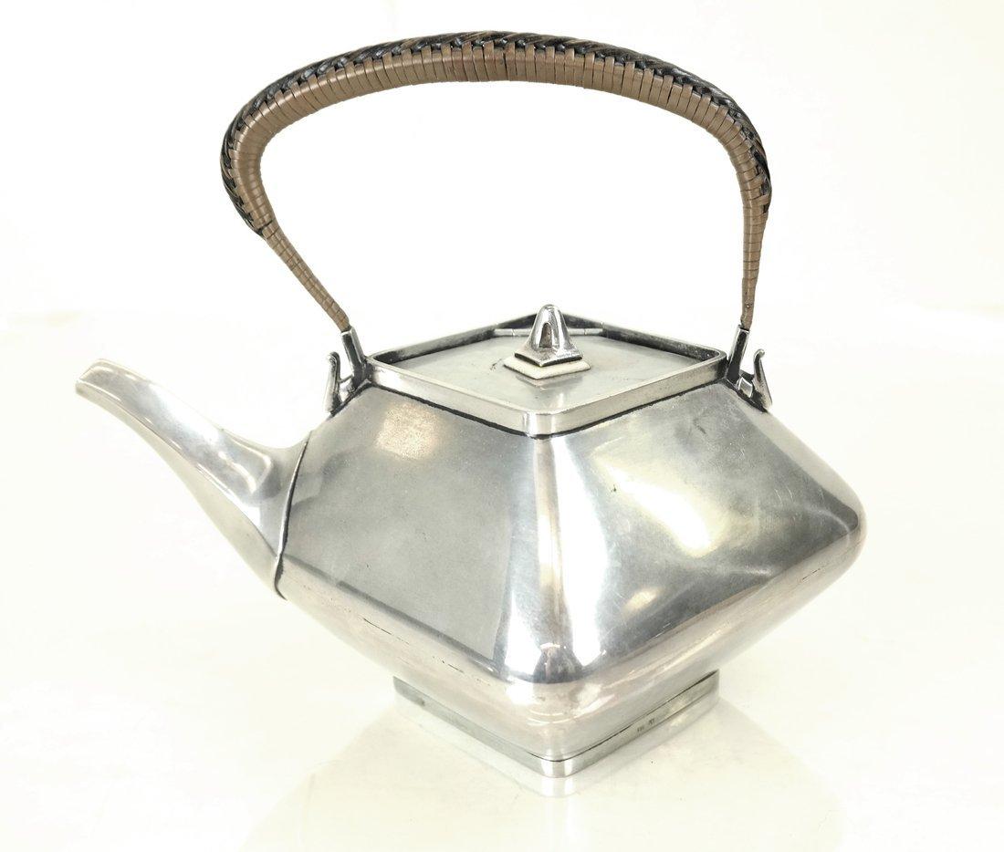 Three German .800 Silver Tea Articles - 2