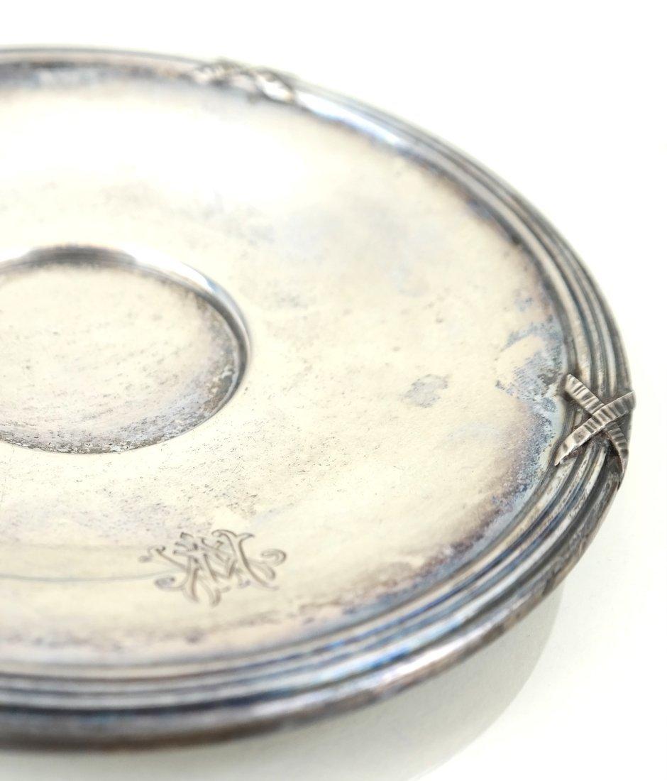Three German .800 Silver Tea Articles - 8