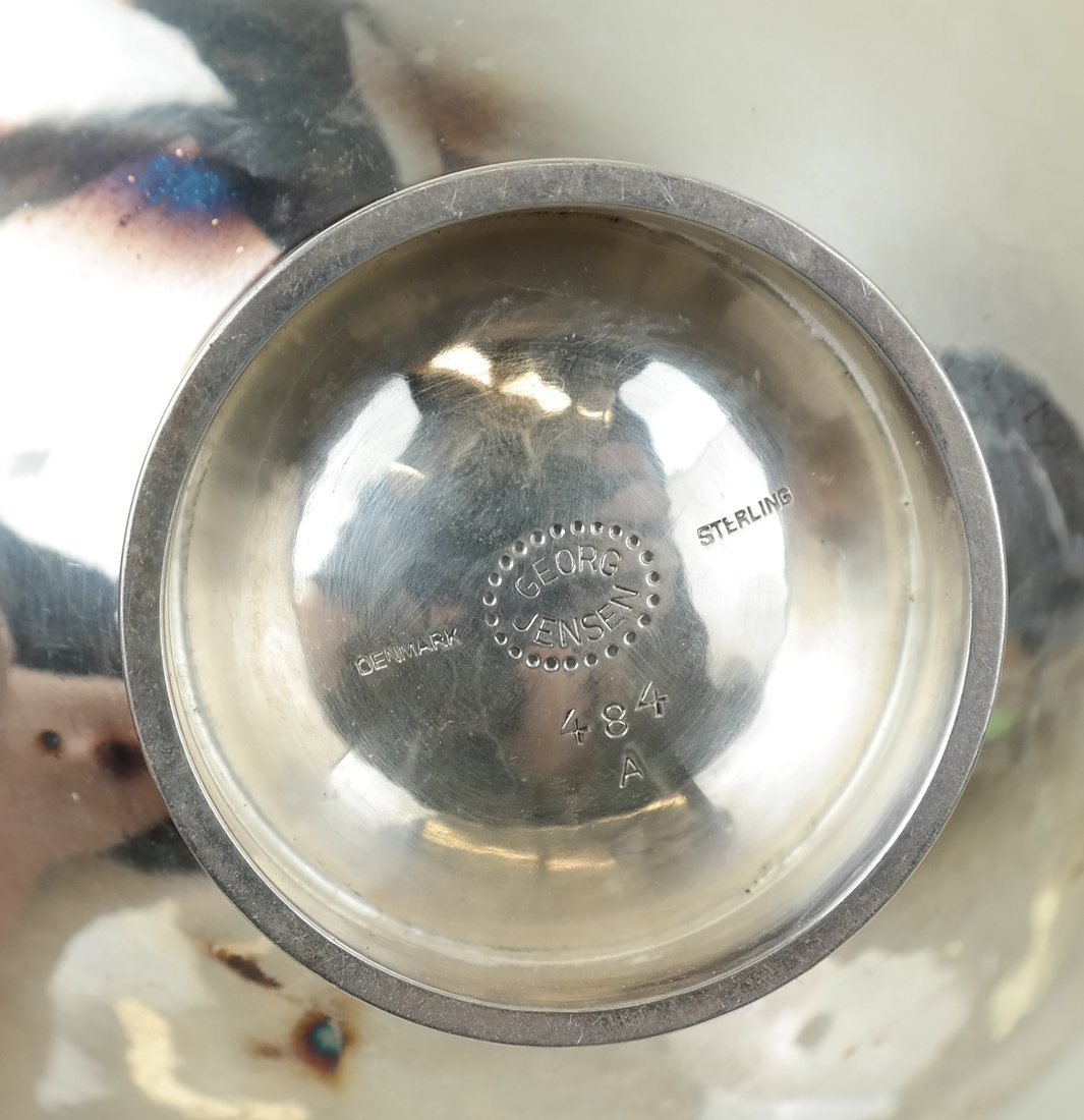 Danish Georg Jensen Sterling Bowl - 4