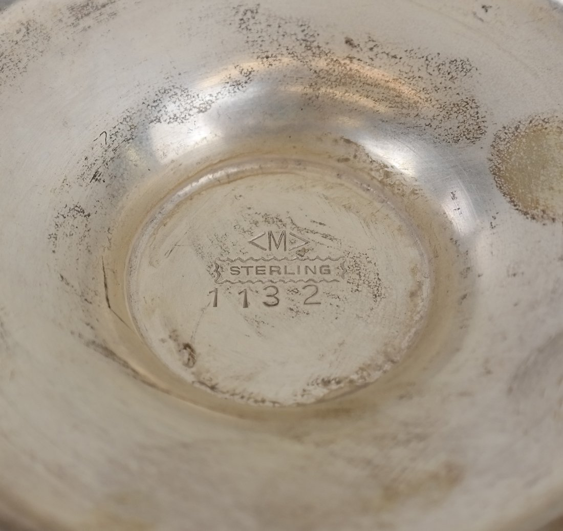 American Sterling Jensen Style Compote - 4