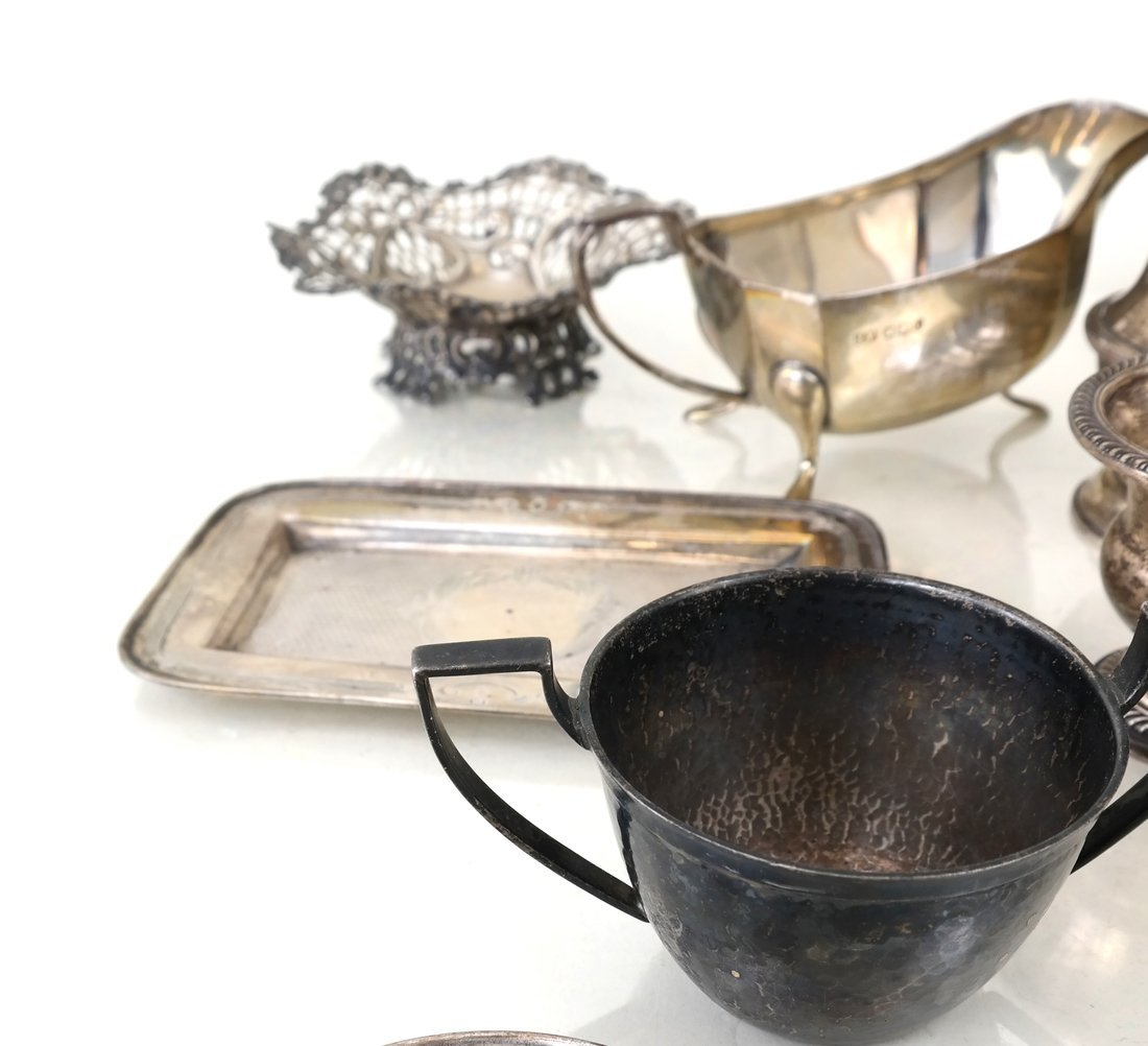 30 Russian English American Silver Items - 5