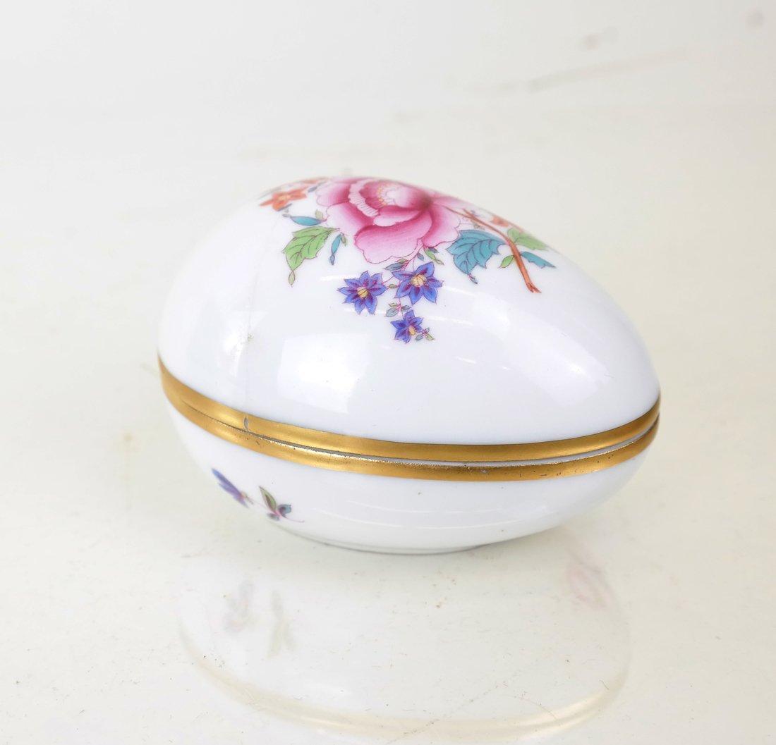 8 Continental Porcelain Figural Boxes - 7