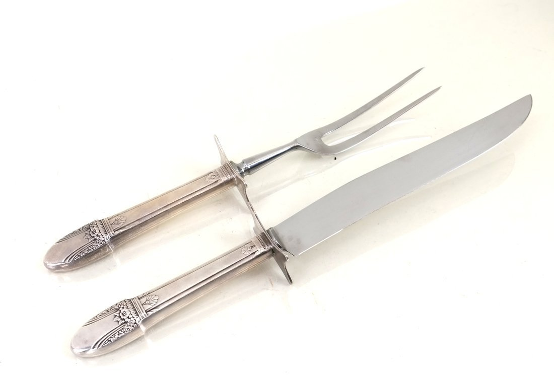 Silver-Plated Part Flatware Service - 3