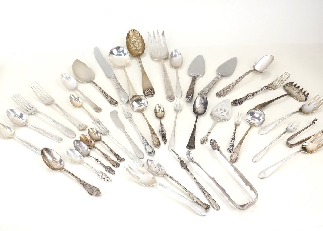 Miscellaneous American Sterling Utensils - 2