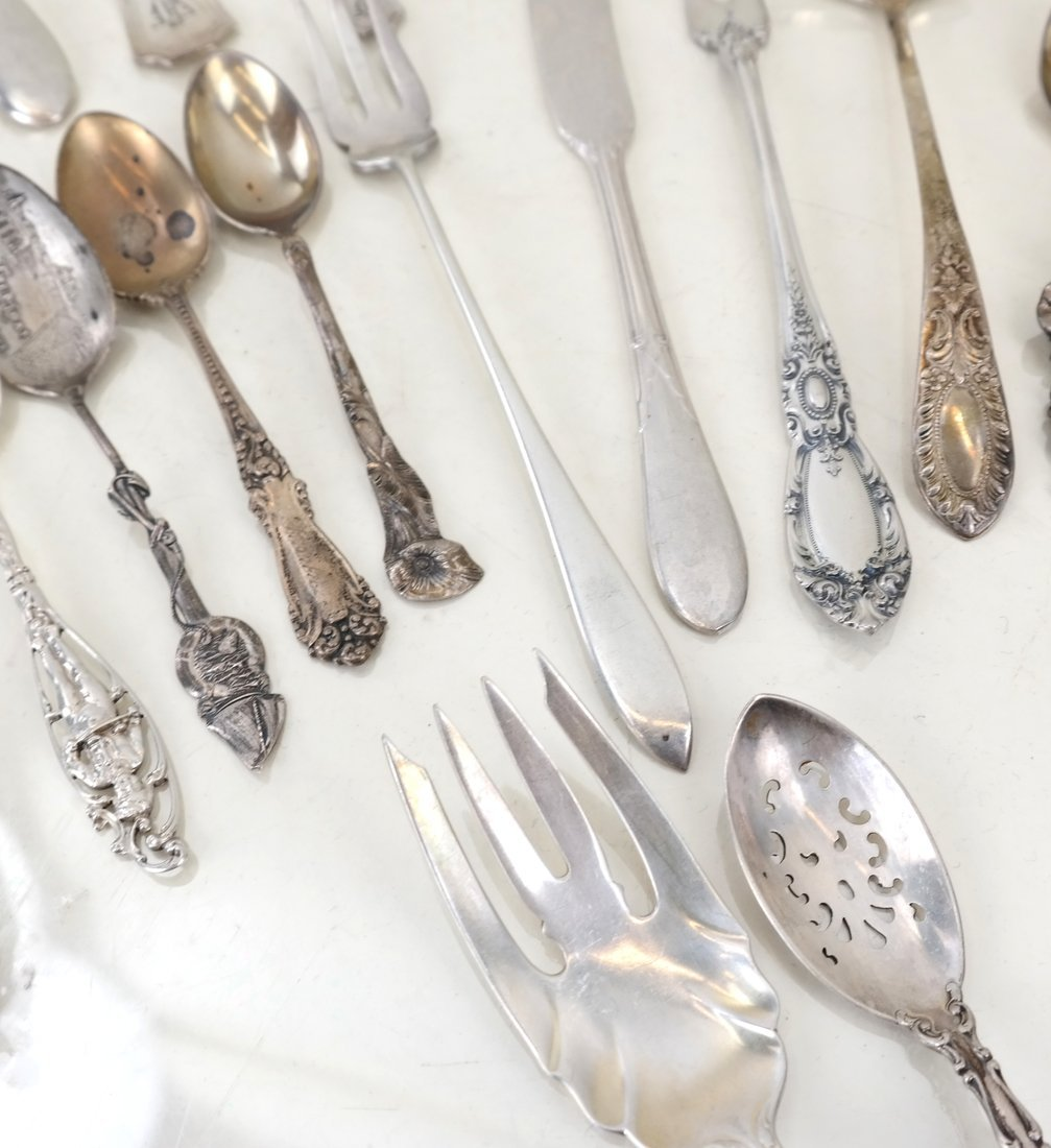 Miscellaneous American Sterling Utensils - 3