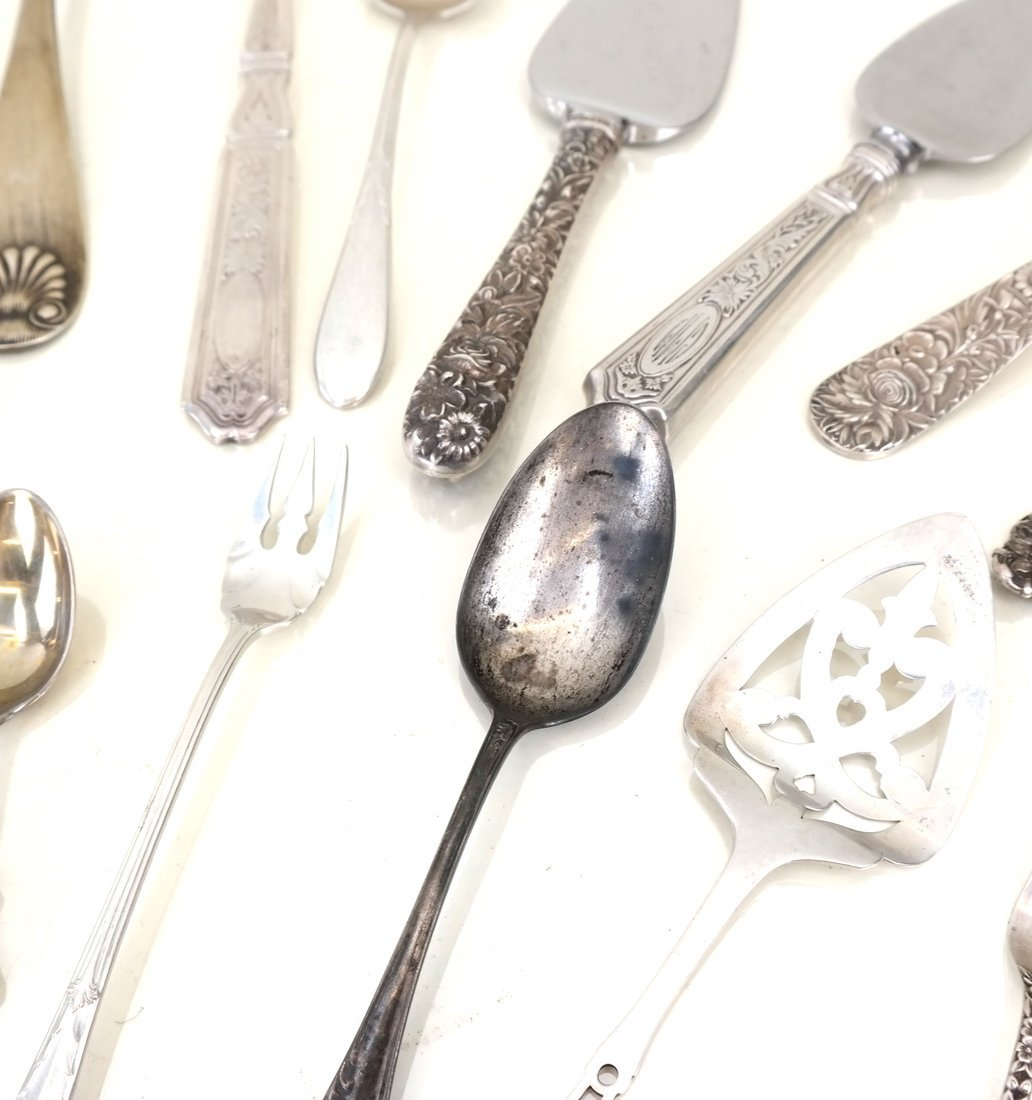 Miscellaneous American Sterling Utensils - 4
