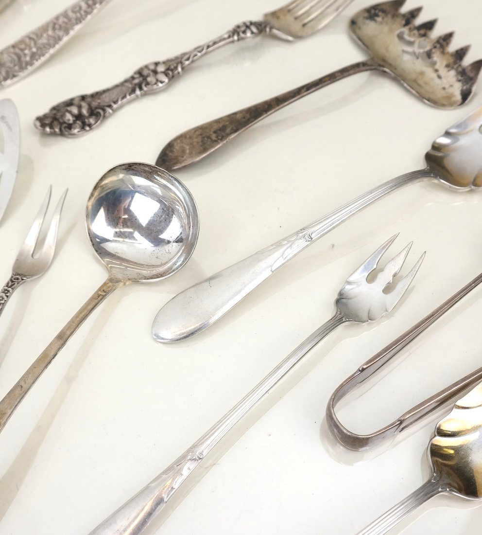 Miscellaneous American Sterling Utensils - 5