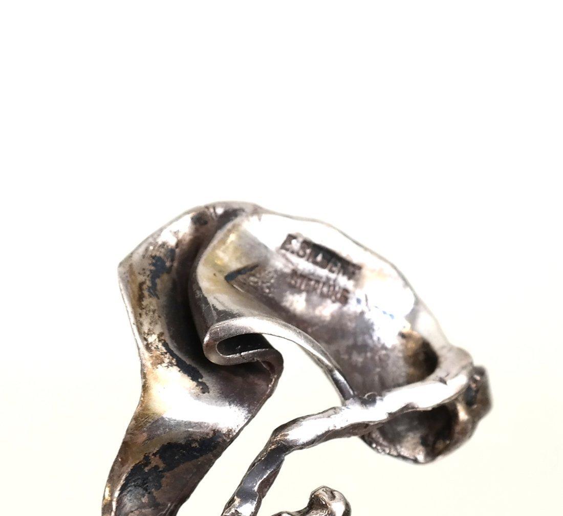 8 E. Silbert Cast Sterling Silver Figures - 7