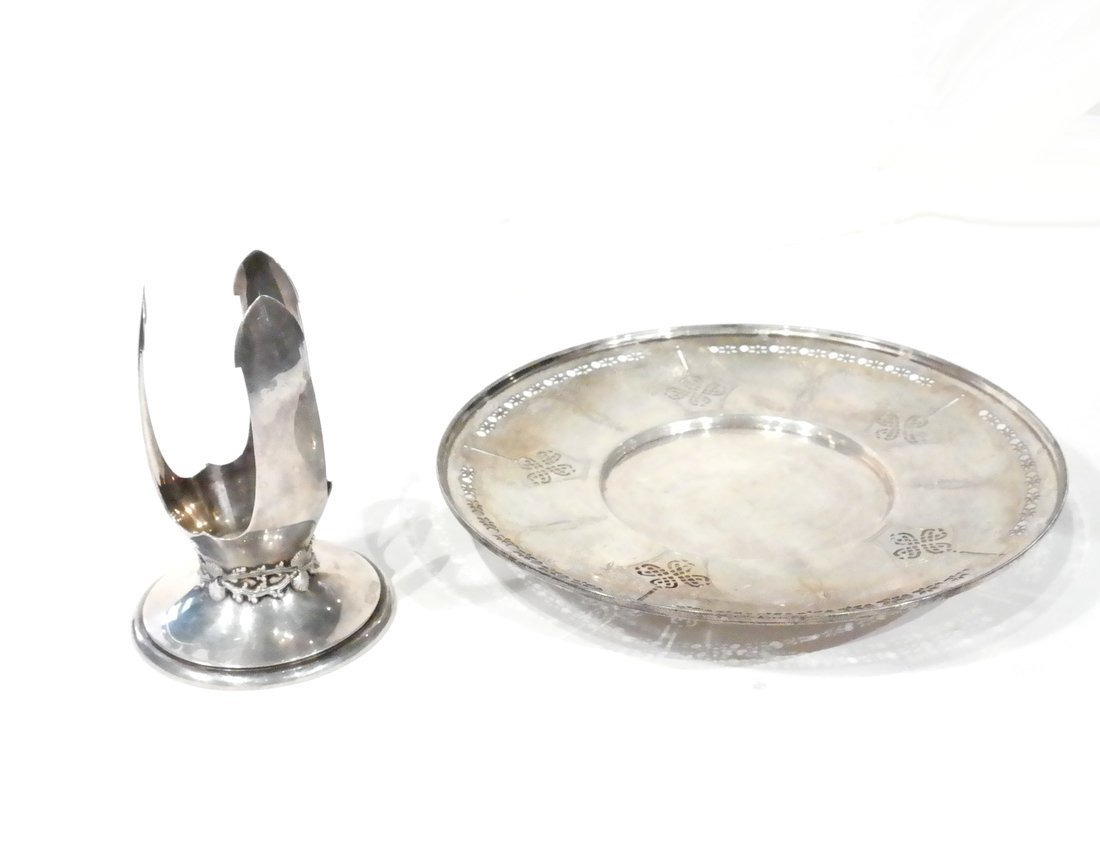 Two American Sterling Table Articles