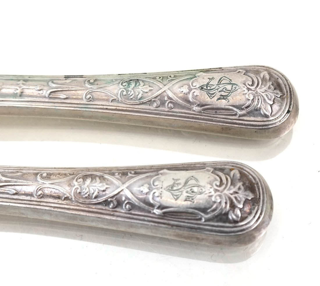 Austrian Sterling Fish or Fruit Set - 4