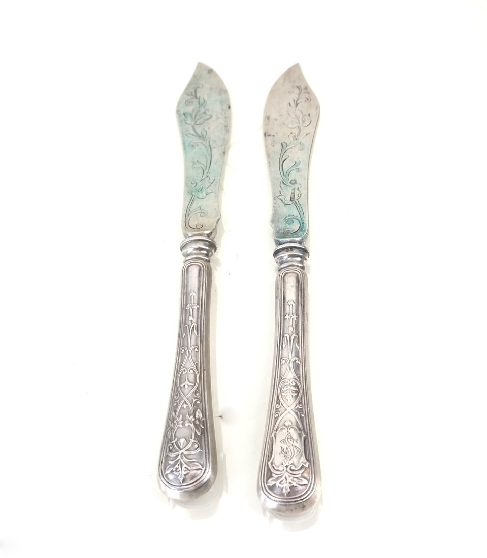 Austrian Sterling Fish or Fruit Set - 5