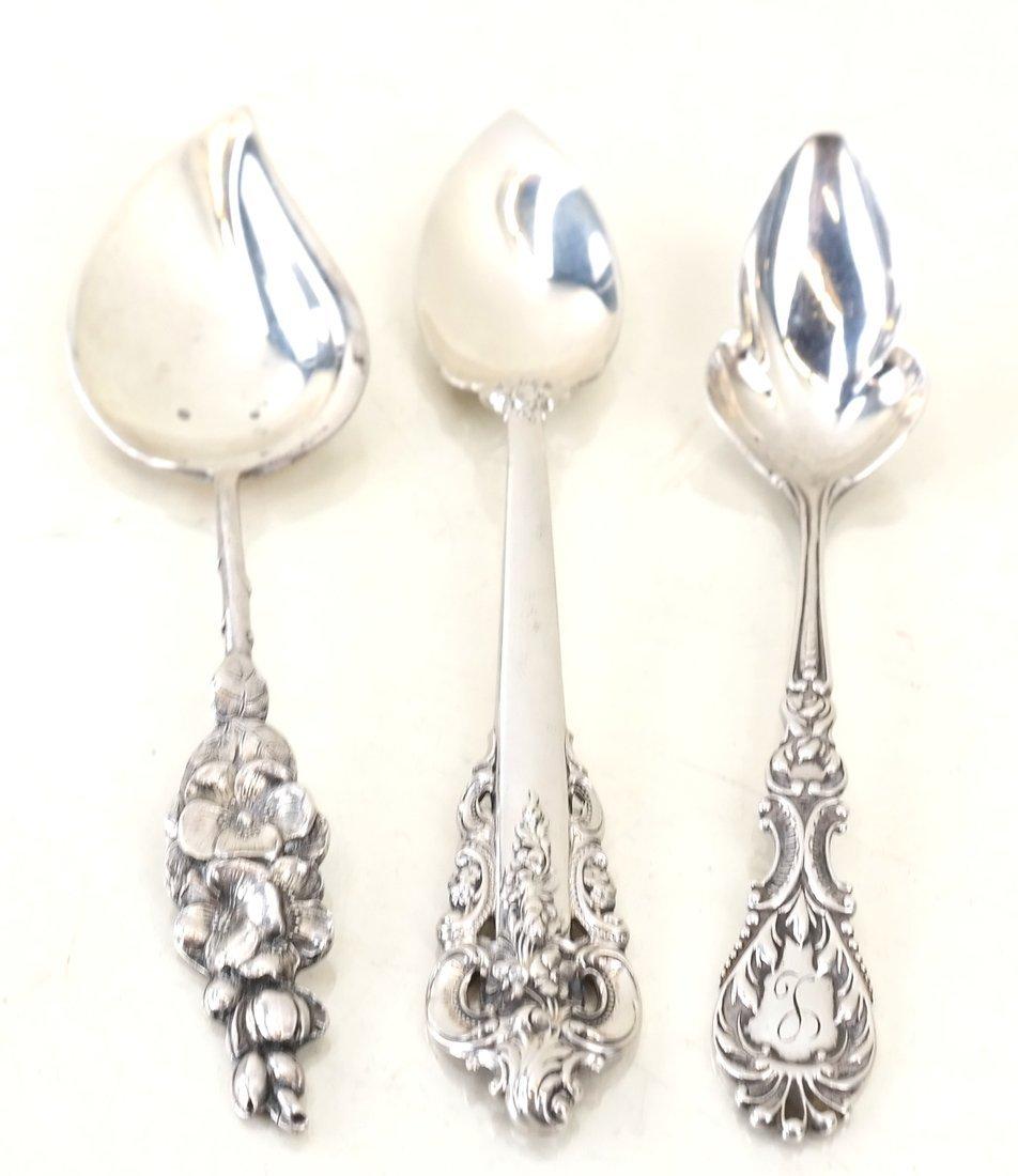 Twelve Various Silver Serving Utensils - 6