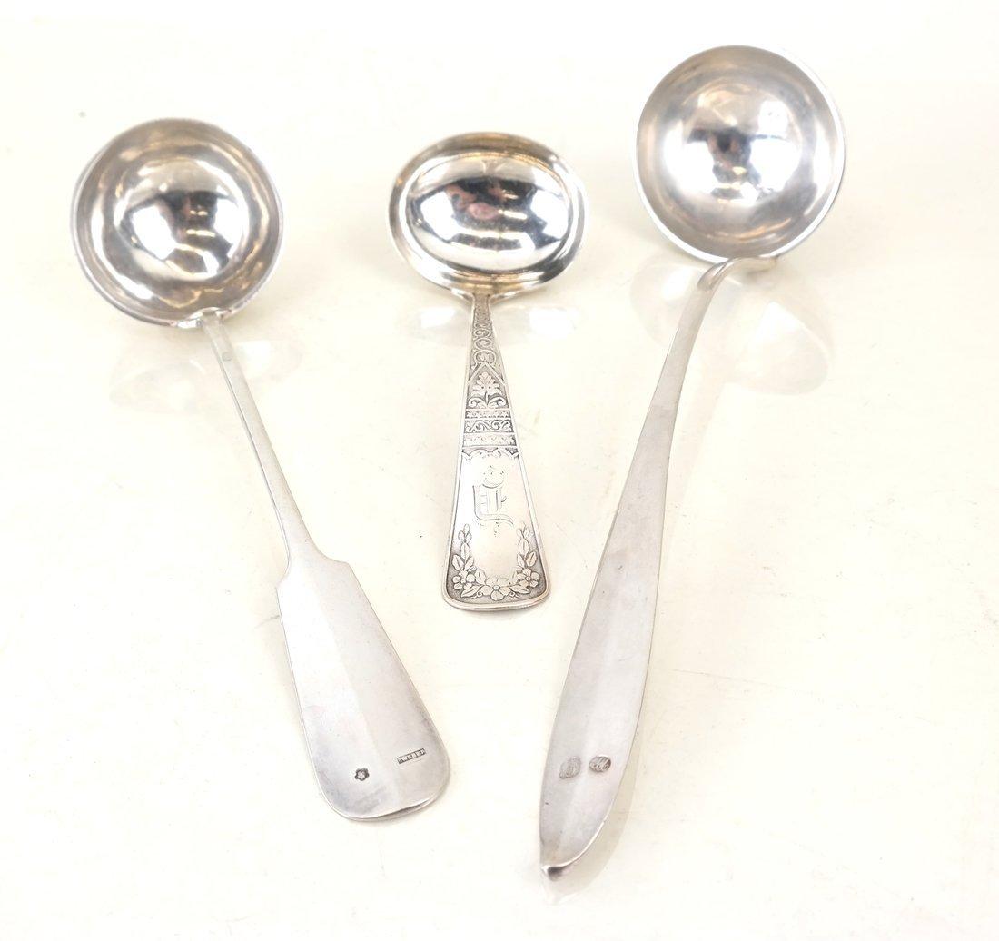 Twelve Various Silver Serving Utensils - 7