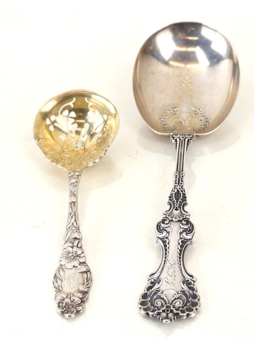 Twelve Various Silver Serving Utensils - 8