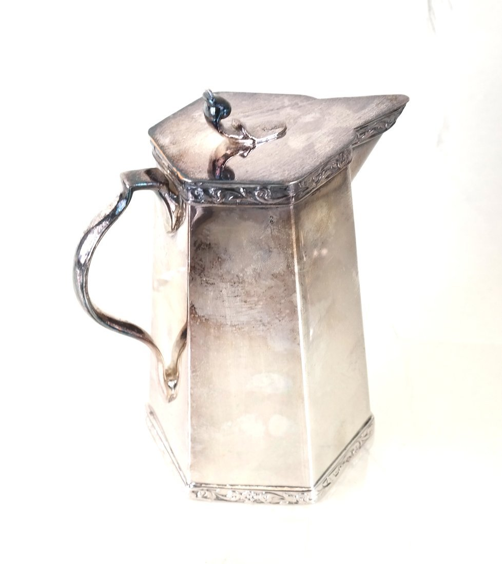 American Sterling Dish & Plated Pitcher - 2