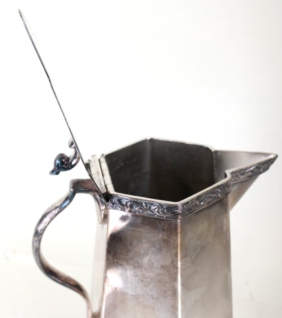 American Sterling Dish & Plated Pitcher - 3
