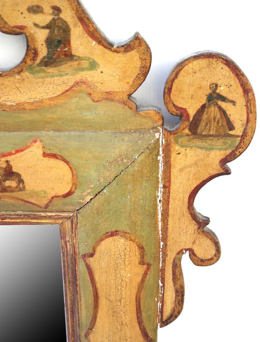 Italian Painted Mirror - 4