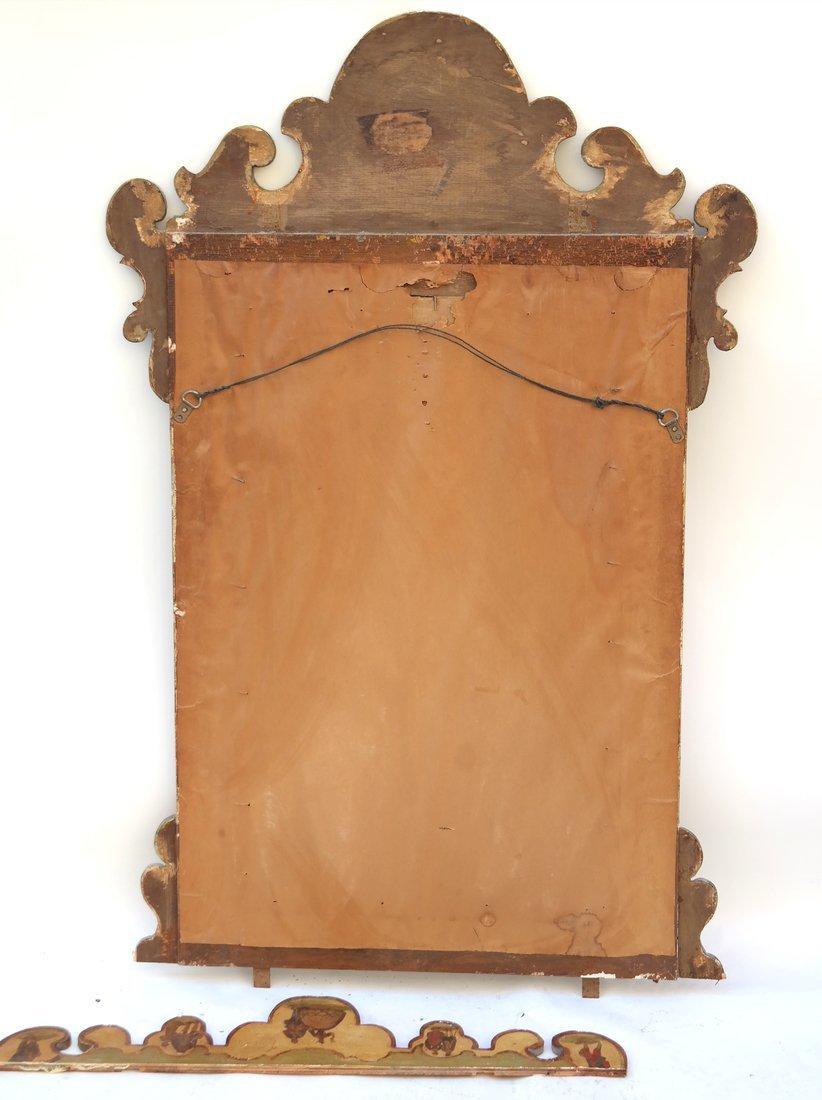 Italian Painted Mirror - 8