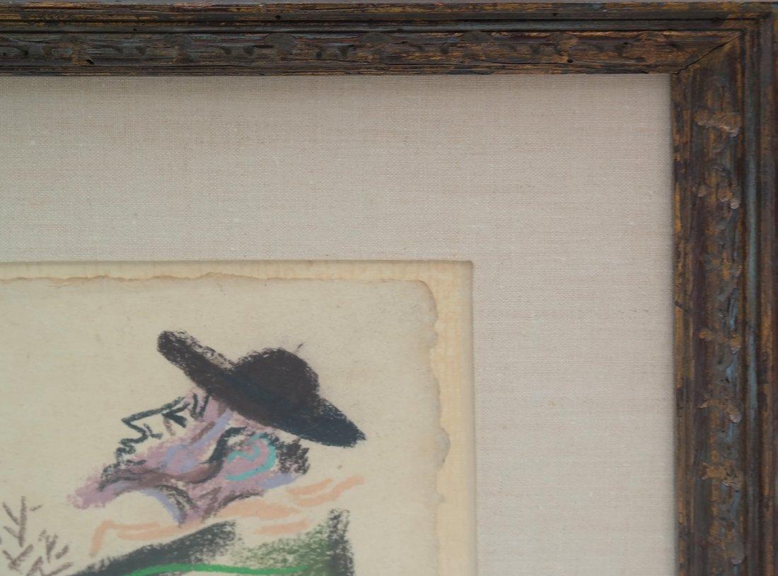 W. Gropper, Two Men - Crayon - 5