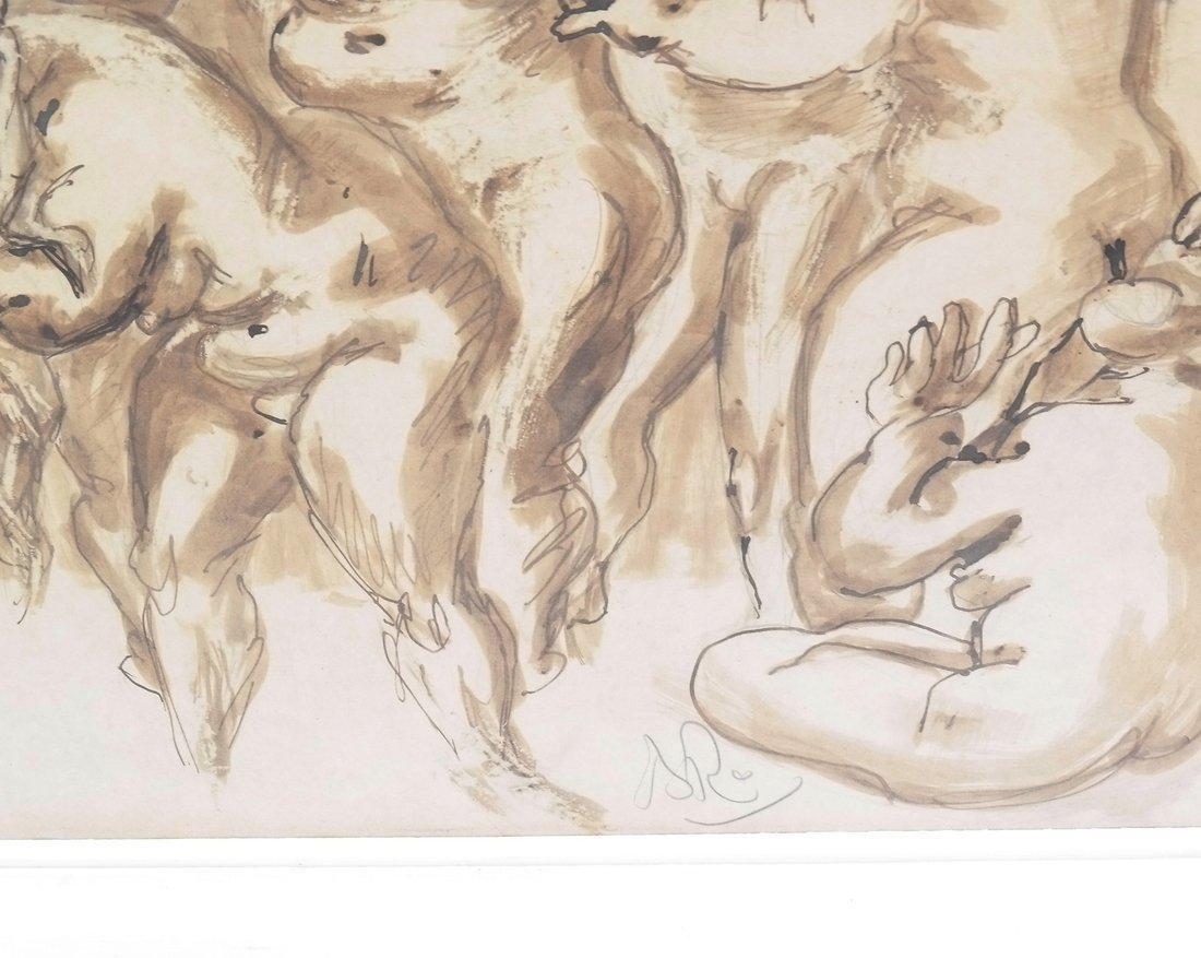 Watercolor, Erotic Nudes - 4