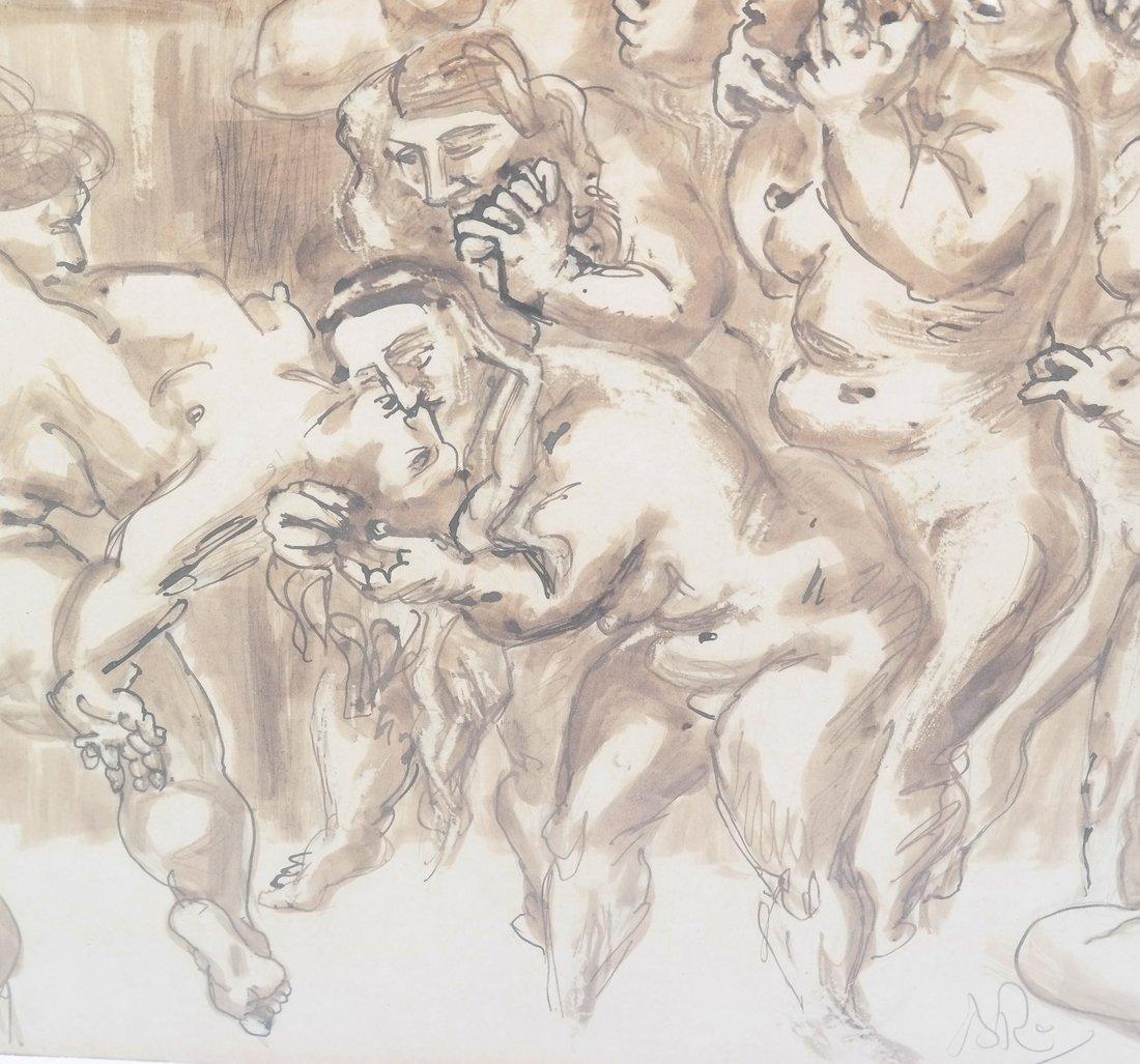 Watercolor, Erotic Nudes - 5