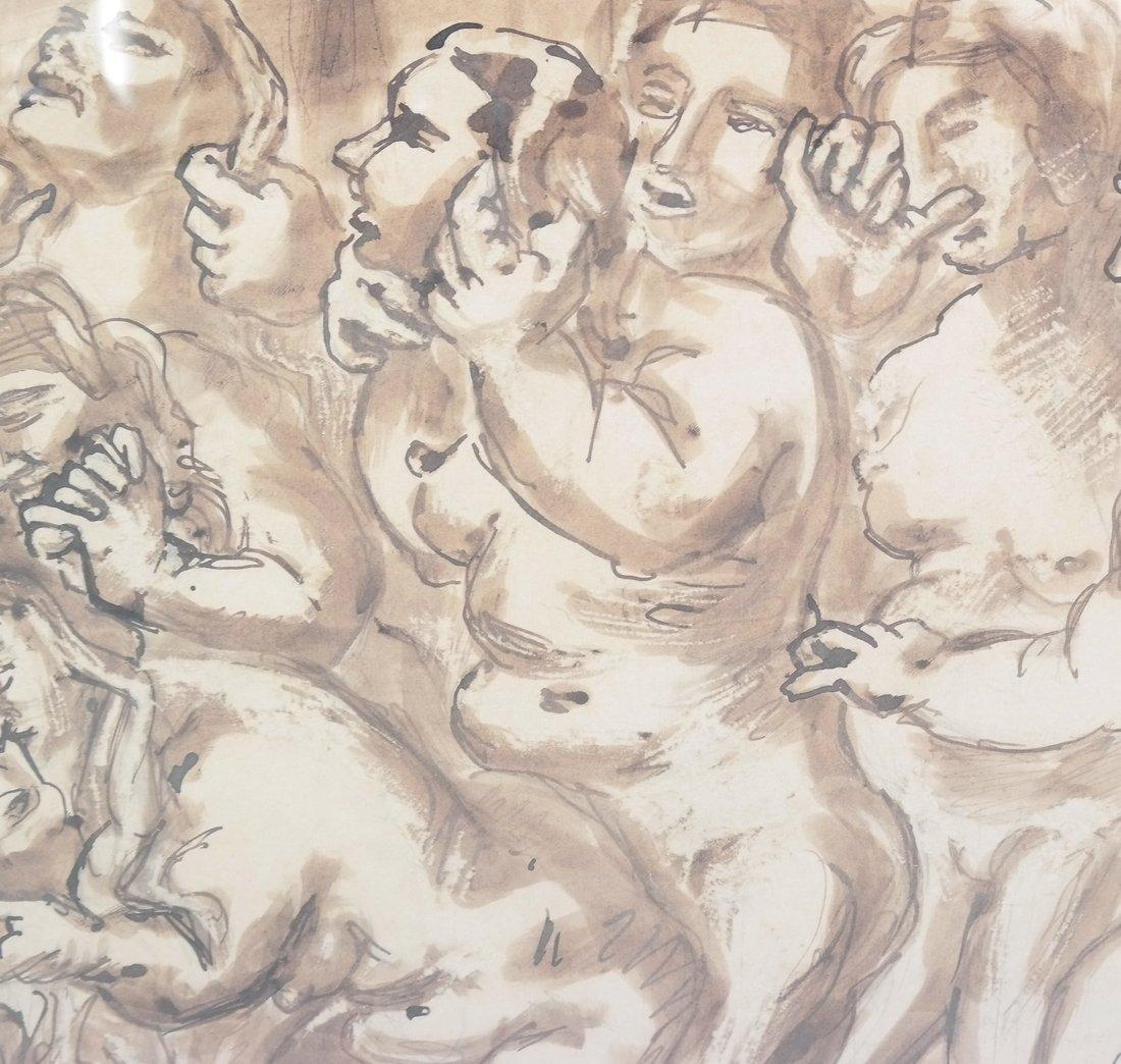 Watercolor, Erotic Nudes - 6