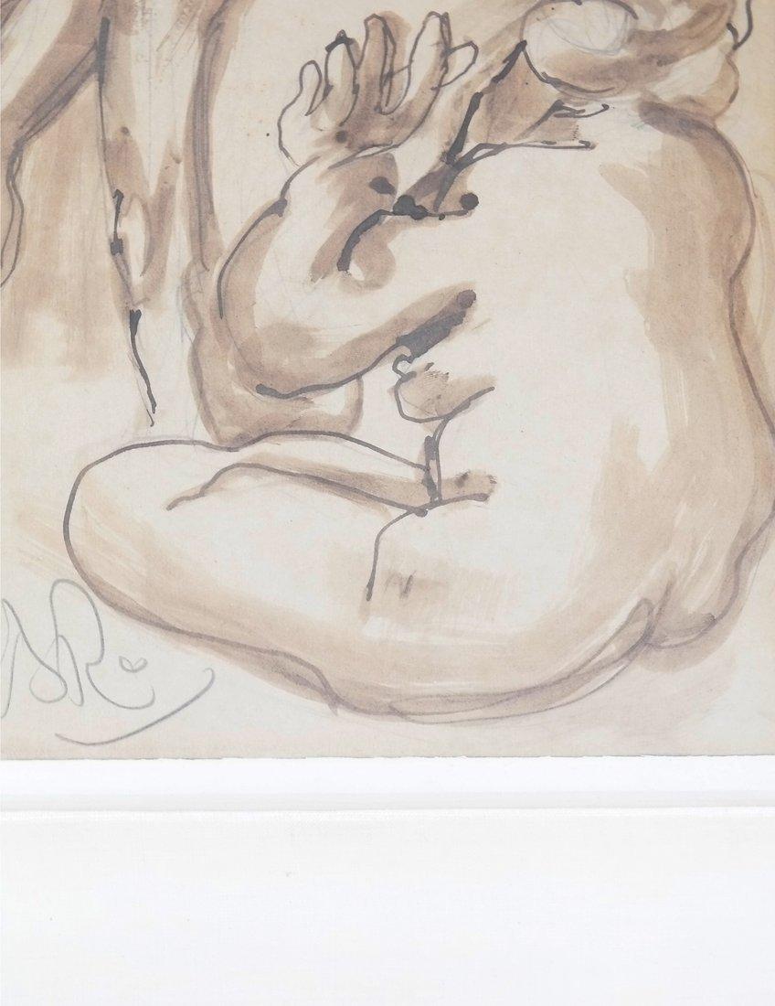 Watercolor, Erotic Nudes - 7