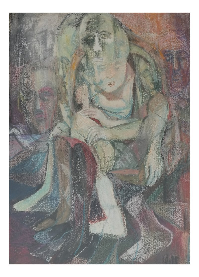 Abstract Figures, Pastel