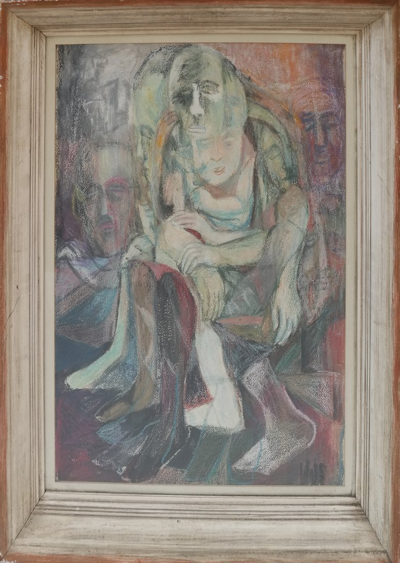 Abstract Figures, Pastel - 2