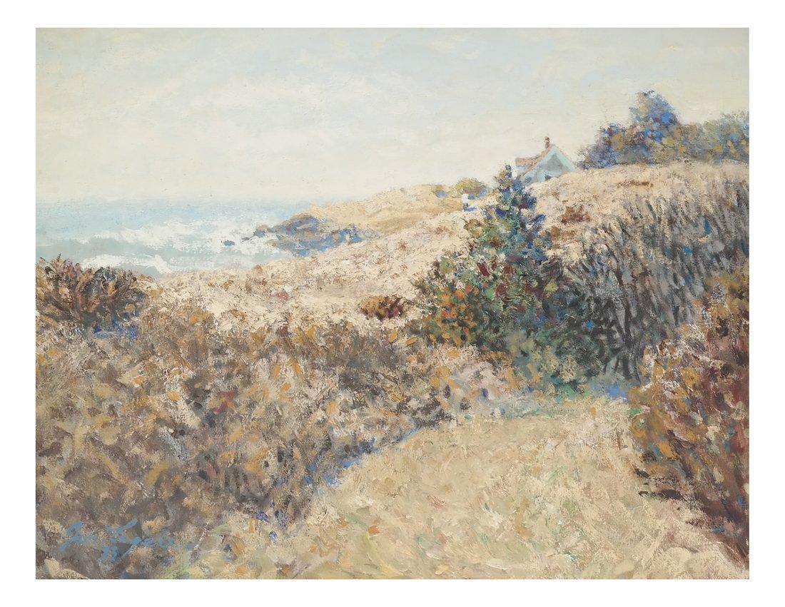 """Jon Legere """"Coastline, Maine"""""""
