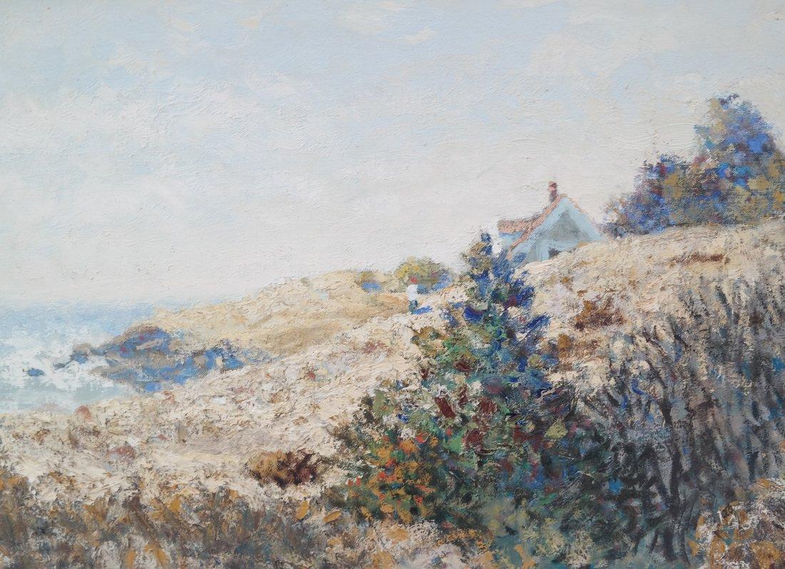 """Jon Legere """"Coastline, Maine"""" - 3"""