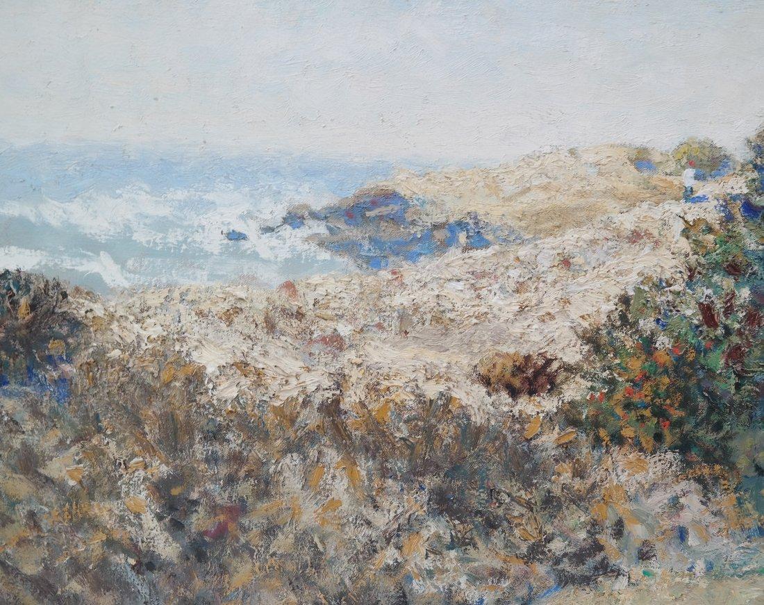 """Jon Legere """"Coastline, Maine"""" - 5"""