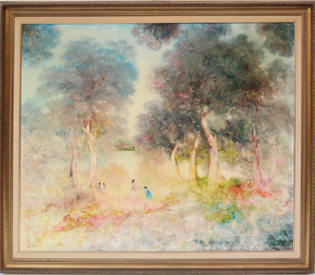 Stefano Sideris, Figures in Landscape - 2
