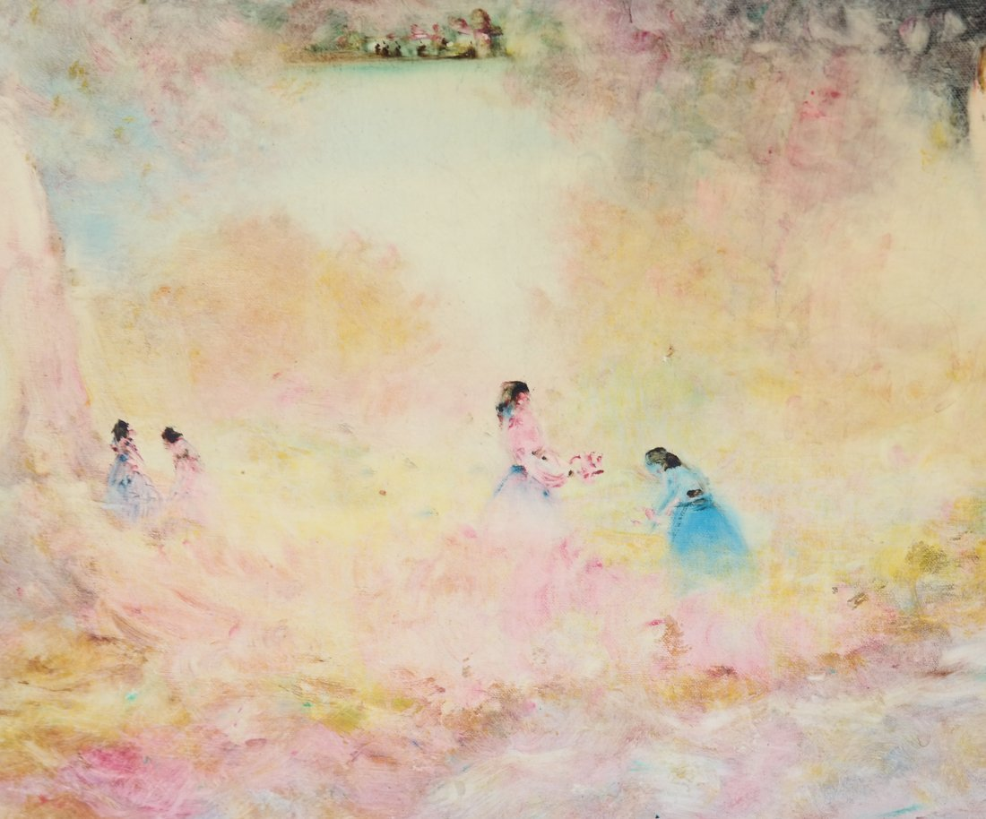 Stefano Sideris, Figures in Landscape - 3